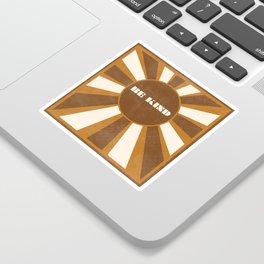 Be Kind brown Sticker