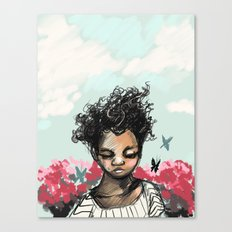 The Most Beautiful Flower Canvas Print