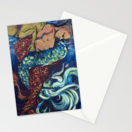 Back Up from the Depths Stationery Cards
