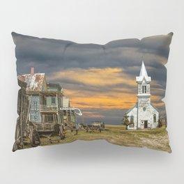 Western 1880 Town Pillow Sham