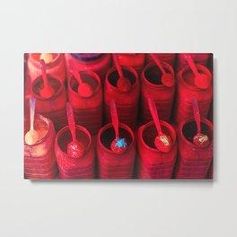Red as Tikka Metal Print