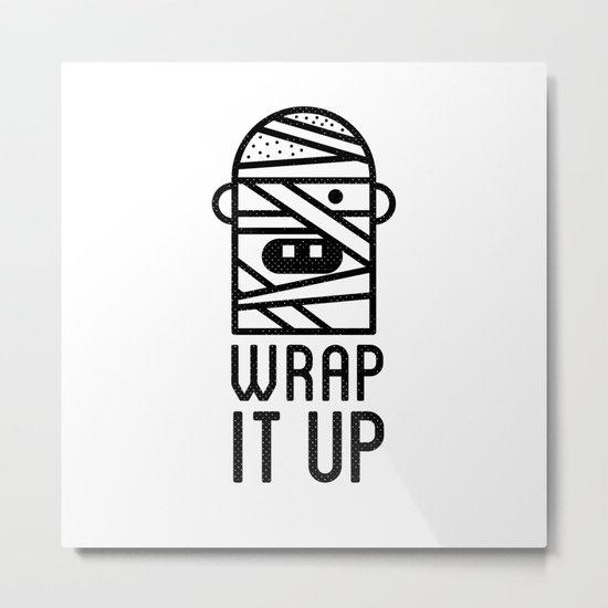 Wrap it Up Metal Print