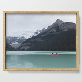 Lake Louise Quiet and Peace Serving Tray