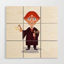Ron Weasley Wood Wall Art