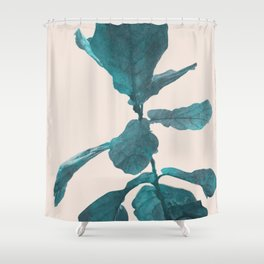 Young Plant Shower Curtain