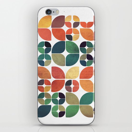 Vintage Fall Pattern iPhone & iPod Skin