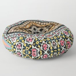 eastern eye Floor Pillow