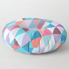 Grid 6 Floor Pillow