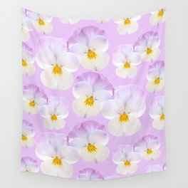 Pansies Dream #2 #floral #pattern #decor #art #society6 Wall Tapestry