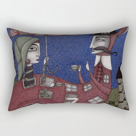 Tea for Two (1) Rectangular Pillow
