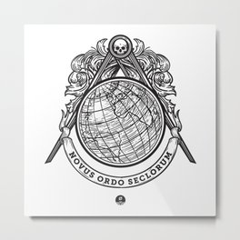 New World Order Metal Print