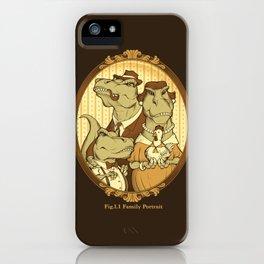 Family Portrait iPhone Case