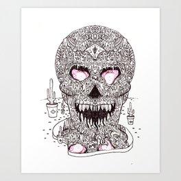Nick Bright Art Print