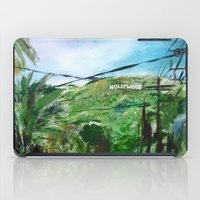 hollywood iPad Cases featuring Hollywood by James Peart