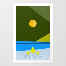 DUNE: CALADAN Art Print