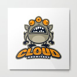 Best Cloud Architect Metal Print