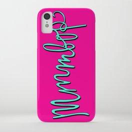 Mmmbop iPhone Case