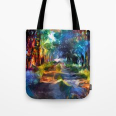 Route coloré Tote Bag