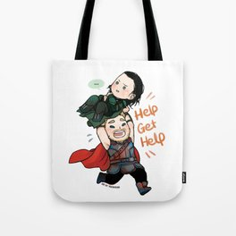 Get Help Brother! Tote Bag