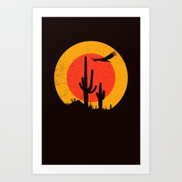 Death Valley (vulture song) Art Print