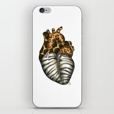 Heart gone wild - color  iPhone & iPod Skin