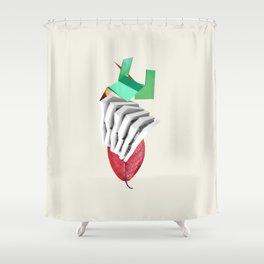 Oporto - Archicity Shower Curtain