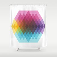 fig Shower Curtains featuring Fig. 022 by Maps of Imaginary Places