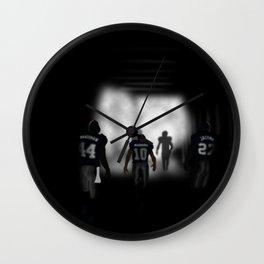 NY Giants Super Bowl XLVI Wall Clock