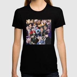 Jungkook BTS collage T-shirt