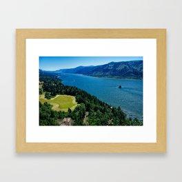 Cape Horn View Framed Art Print