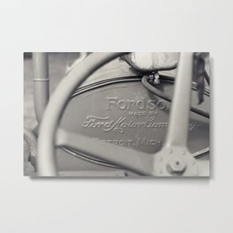 Ford Motor Company Fordson Tractor Metal Print