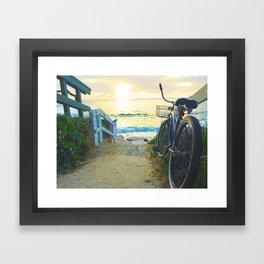 La Jolla Sunset Framed Art Print