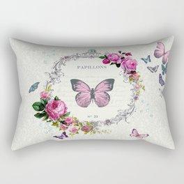 Papillons Rectangular Pillow