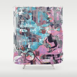 When People Can't Get Love They Substitute It With A Bunch Of Drugs Shower Curtain