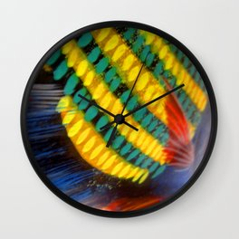 Painted Angel Wall Clock