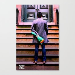 Twolips. Canvas Print