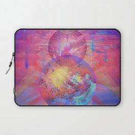 Cosmic Cats eyes Laptop Sleeve