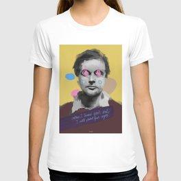 Drunk Modigliani POP art style, digital painting T-shirt