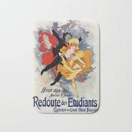 La Redoute des Etudiants Cheret 1894 Bath Mat