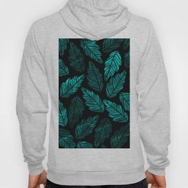 Green Leaves Hoody