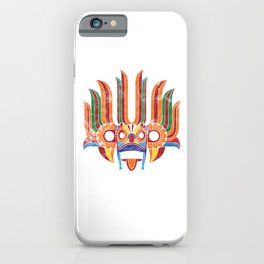 Sri Lanka Country Culture Sri Lankan Cultural Festival Mask iPhone Case
