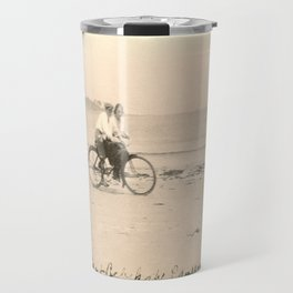 Love on a Bicycle Travel Mug