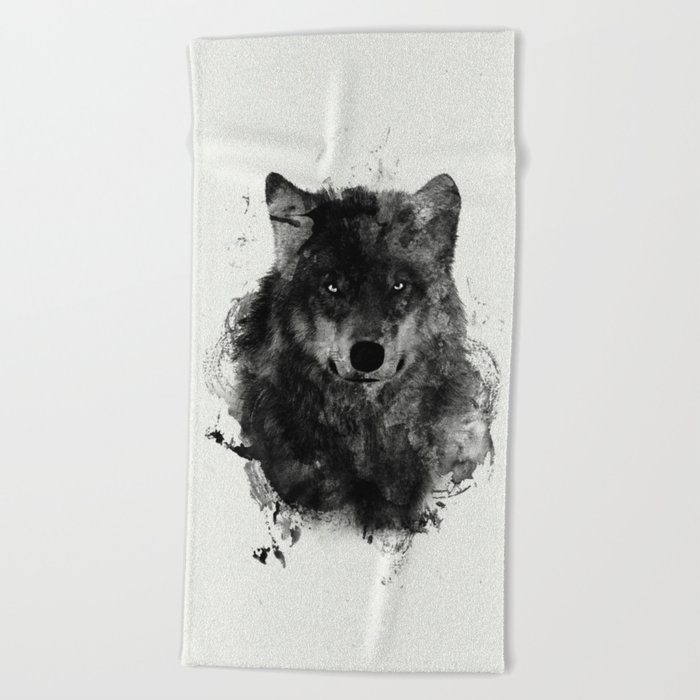 We are all Wolves Beach Towel