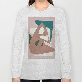Abstract Minimal Shapes Long Sleeve T-shirt