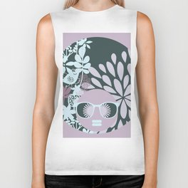 Afro Diva : Sophisticated Lady Pastel Biker Tank