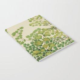 Maidenhair Ferns Notebook