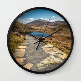 Miners Path Wall Clock