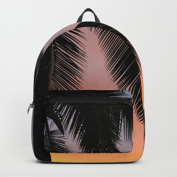 Ocean Shore Palms Backpack