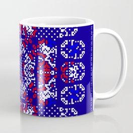 """Snowflakes"" series #5 Coffee Mug"