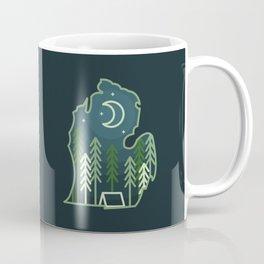 Michigan Camping - Summer Coffee Mug